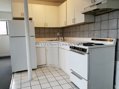 Mission Hill Large studio apartment available on Parker Hill Ave Boston - $1,700