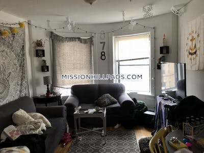 Mission Hill Fantastic 4 Beds 2 Baths at Huntington Avenue  Boston - $4,400